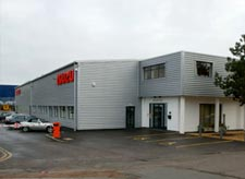 Industrial building refurbishment, roofing and cladding